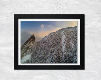 Boulder Snow