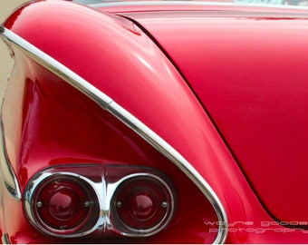 58 Chevy, Car Photography, Home Decor, Wall Art