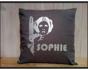 "STAR WARS ""Princess Leia"" personalized pillow"