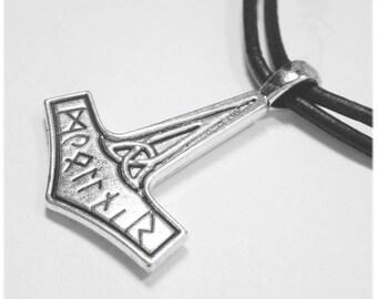"""Mixed necklace """"Mjöllnir"""""""
