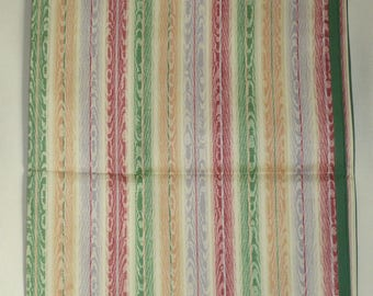 Tablecloth or surnappe cotton faux wood