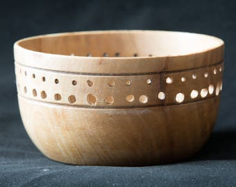 Crape Myrtle bowl with dot design
