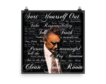 Jordan B. Peterson Poster - Quote art