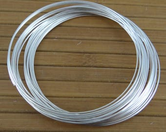 20 rounds of memory wire to 0.6 mm for making bracelet metal tfcm013