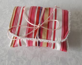 "Traveling case waterproof SOAP ""rose stripe"" to take the SOAP in bag or toiletry bag"