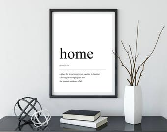 Home | Definition Print | Digital Download | Home Decor | Wall Decor | Prints | Wall Art