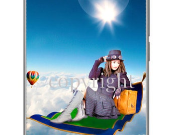 Le voyage fond d'écran pour ipod ou ordinateur création unique sur le thème féerique.