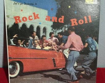 Let's Go Dancing to Rock N Roll-LP - Hen Gates and his Gaters- Rock Me Baby- 1957 Rockabilly Classic! Hot Rod-Sock Hop- Drag Race- Drive In