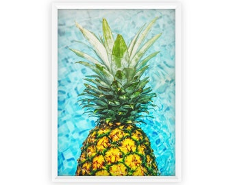 Pineapple Art Print, Pineapple, Digital Download, Printable Pineapple, Kitchen Decor, Tropical Print, Pineapple Poster, Best Selling Items