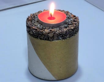 Concrete Candle Holder Cookie_one_high