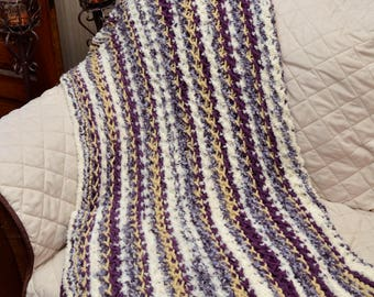 Hand Knit Afghan