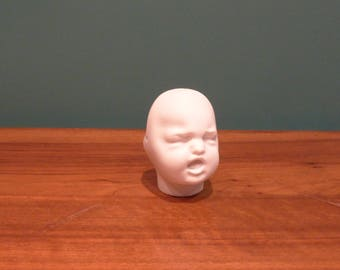 Rare DOUBLE sided doll Bisque head molded (unmarked: Bru, twin, antique BISQUE Kestner?)