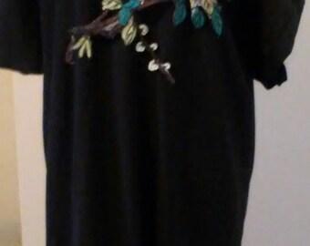 Caftan dress/ black dress