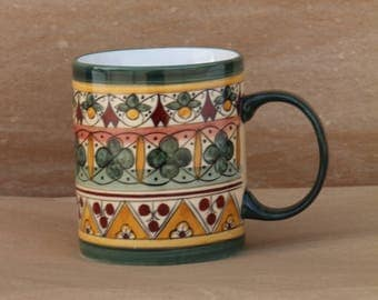 Coffee Mug in Sun Pattern