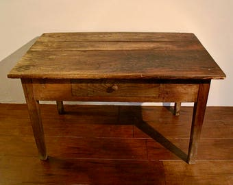 Farmhouse scrubbing table