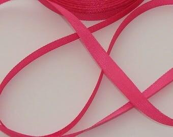 3 m Ribbon hot pink grosgrain Ribbon 10mm wide
