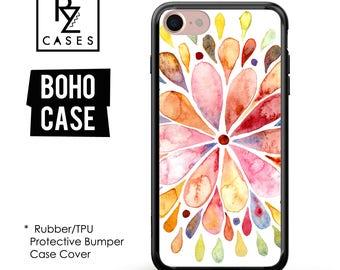 Boho Phone Case, Boho iphone Case, iPhone 7 Case, iPhone 6 Case, Bohemian Soul, Love Case, iPhone 7 Plus Case, Rubber, Bumper Case