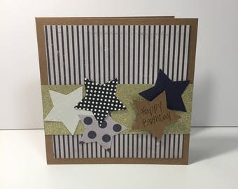 Handmade card / Happy Birthday