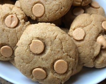 24 Soft Peanut Butter Cookies