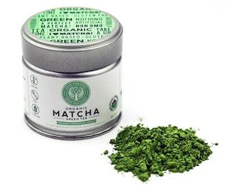 Organic Matcha - Premium Ceremonial - 30g - 25 Servings