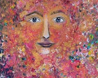 Original Portrait of Happinez