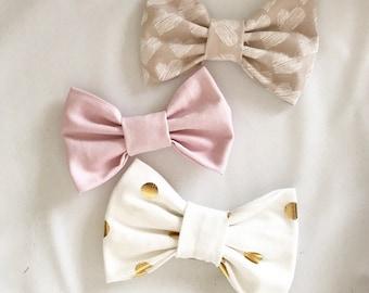 Pretty & pale bows