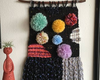 Space Weaving | Woven Wall Hanging