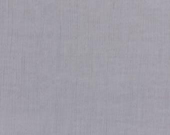 Plain FRANCE DUVAL-STALLA gray crepe fabric