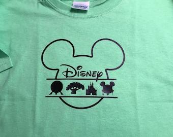 Disney Vacation T-shirt Family Set of Shirts