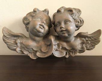 Woodcarving angels - woodcarving - Handmade item - handmade angels