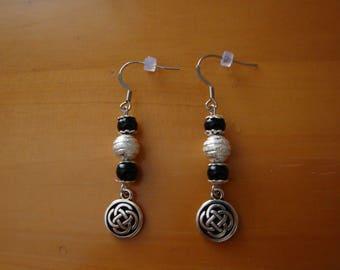 Earrings BLACK CELTIC