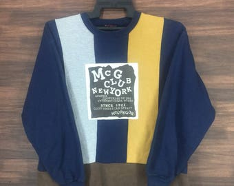 Vintage Mc Gregor Mc G Club New York Sweatshirt