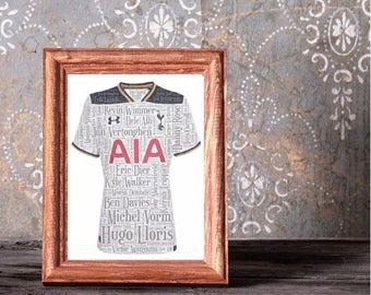 Personalised Tottenham Hotspurs Picture