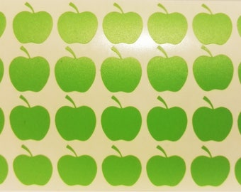 1 Green Apple stickers