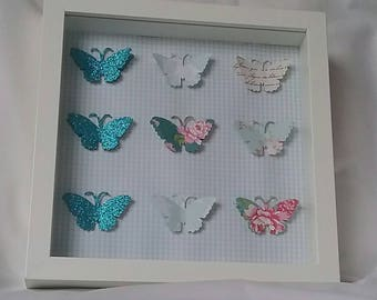 Butterfly framed picture