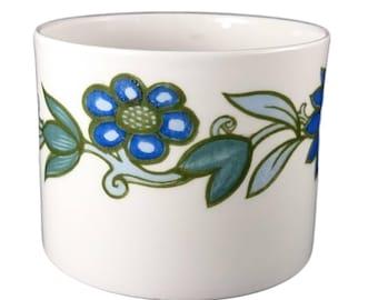 Susie Cooper 'Art Nouveau Blue' Sugar Bowl