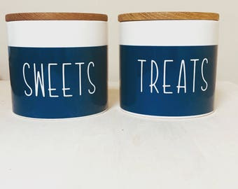 Sweets & treats jars-small