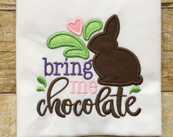 Bring Me Chocolate Girls Puff Sleeve T-Shirt