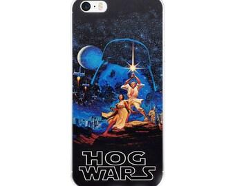 Hog Wars Hedgehog Sci Fi Humor iPhone Case Gifts For Hedgehog Fan