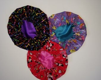 Toddler Sized Hair Bonnets