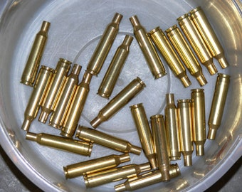 6mm Remington once fired brass - 24 count