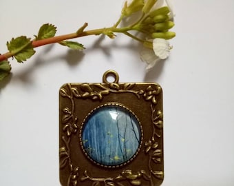 Glass Pendant eclectic gift for Nature lovers