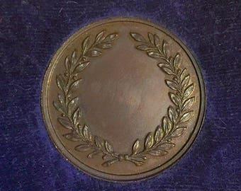 Vintage Bronze Medallion by Mappin & Webb Ltd