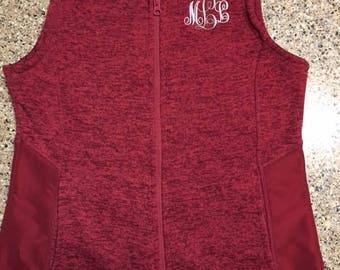 Monogram Fleece Vest