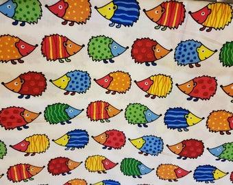 Hedgehog fabric - made to order options