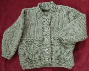 Cable Pattern Cardigan