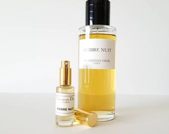 Christian dior ambre nuit 15ml in atomizer