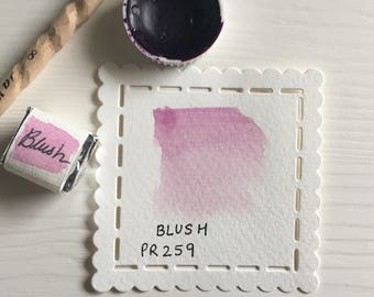Blush - Handcrafted Watercolour