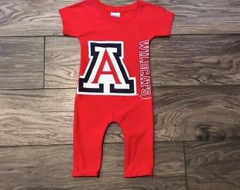 University of Arizona Romper 18mo