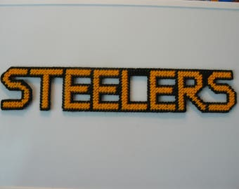 STEELERS in Handmade, Needlepoint Sports Magnets